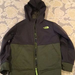 The North Face boys reversible jacket